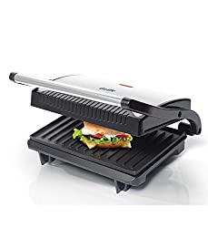 GLEN Sandwich Grill Makers with 2 Year Warranty