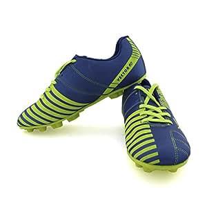 Vector X Volt Football Shoes, UK 9 (Blue)
