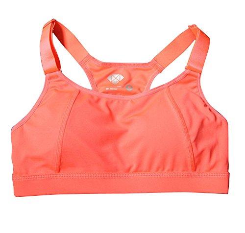 Molly Impact Élevé Femmes Push Up Bon Yoga Sportif Orange