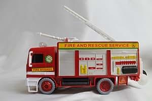 NEW FIRE BRIGADE BUBBLE BLOWING MACHINE PUMPER BLOWER KIDS TOY BUMP N GO BIRTHDAY