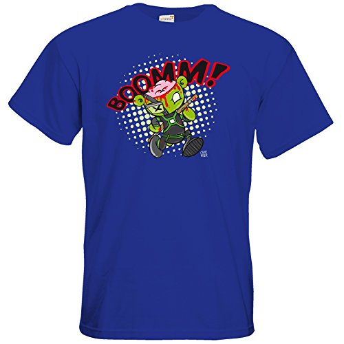 getshirts - Crapwaer - T-Shirt - Superhero - Zombieteddy Royal Blue