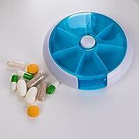 Saiko Pillendose Medikamentendosierer 7 tage Pillenbox Medikationshilfe Tablettendose Tablettenbox Wochendosierer... preisvergleich bei billige-tabletten.eu