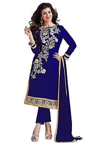 Tiludi Fashion Women's Chanderi Cotton Salwar Suit With Dupatta(Tfm004_Ornage Free Size)