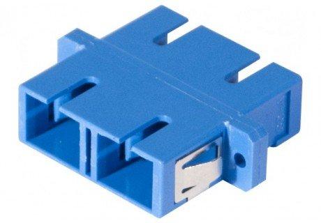 Traversée coupleur fibre optique monomode SC/SC duplex