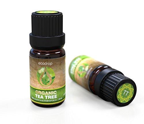 Teebaum ätherisches Öl, 100% rein, beste therapeutische Qualität für Aromatherapie, Massage, Diffusoren und Bad - 10 ml, inklusive E-Book (Melaleuca Alternifolia)