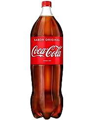 Coca-Cola - Regular, Refresco con gas de cola, 2.2 l, Botella de plástico