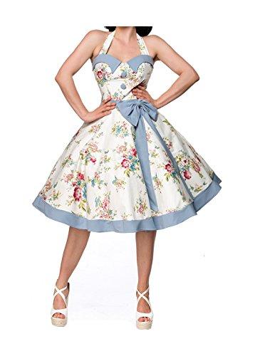 Belsira Damen Vintage Swing Kleid XL
