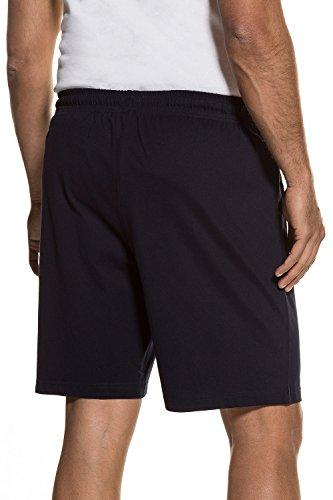 JP 1880 Herren Große Größen bis 8 XL | Kurze Pyjama Hose | Jogging-Hose aus 100% Baumwolle | Sweatpants | 2 Taschen | Navy L 708405 76-L (Baumwolle Pyjama Set Blau 2)