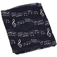 YYXXX Schal gedruckt Frühling und Herbst Bali Garn Musik lange Schal Mode wilden warmen Schal