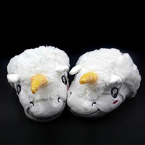 Anself-Zapatillas-de-estar-por-casamueca-de-unicorniounisex-286cmcolor-blanco