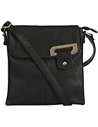 703f0dbd59b8 Womens Medium Trendy Messenger Cross-Body Shoulder Bag With Gold Trim and a  Branded Protective…