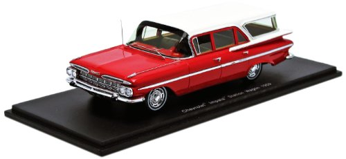spark-s2905-vehicule-miniature-modele-a-lechelle-chevrolet-impala-station-wagon-1959-echelle-1-43