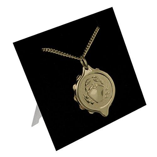 SOS Talisman 222313 Krebs Medizinisches Notfall-Halskette, Notfall-Anhänger, vergoldet, Diabetes, Epilepsie, Allergie, wasserdicht. (Medic Alert Gold)