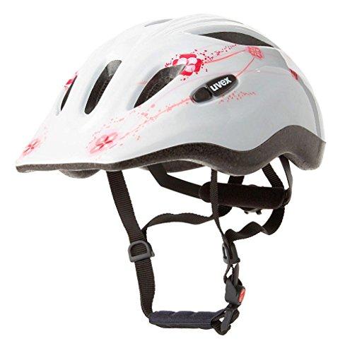 Uvex Speedy Fahrradhelm für Kinder (53-57, WHITE PINK)