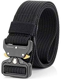 Deportes cinturón de Entrenamiento con Hebilla de Metal Universal Resistente Ajustable Nylon Cobra cinturón táctico para