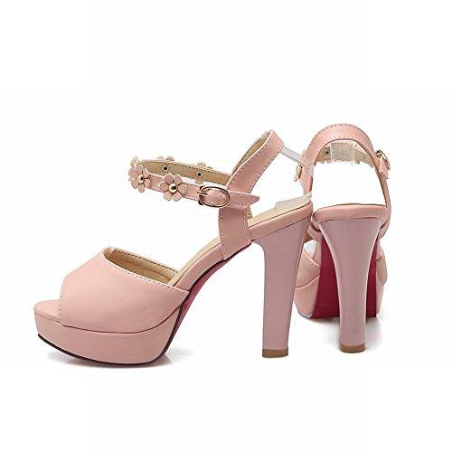 MissSaSa Donna Sandali col Tacco Alto Elegante Rosa