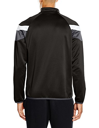 PUMA Herren Langarmshirt Spirit II 1/4 Zip Training Top black-White