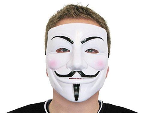 Guy Kostüm Tanz - Alsino V wie Vendetta Maske Karneval Saw Fasching Maske Mas-05