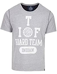 THE INDIAN FACE Camiseta Manga Corta Gris XL