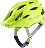 Alpina Unisex Jugend Carapax JR. Flash Fahrradhelm be Visible, 51-56 cm