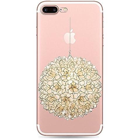 Qissy® ( No para iPhone 7 ) iPhone 7 Plus Funda,Carcasa iPhone 7 Plus Case Cover Dibujos Animados Silicona Suave Funda para Apple iPhone 7 Plus