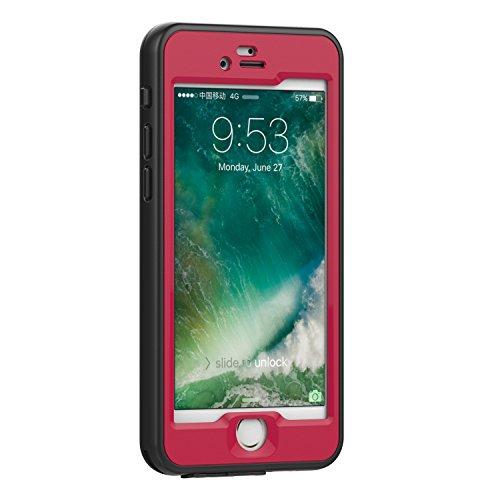custodia iphone 8 impermeabile rosa
