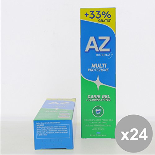 Set 24 AZ Dentifricio 75 + 25 Verde Gel - Cura del Viso