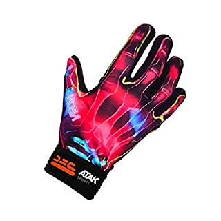 Atak Sports Men's Neon Gaelic Gloves, Pink, 7-8 Years
