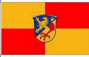 Königsbanner Hissflagge Undenheim - 60 x 90cm - Flagge und Fahne