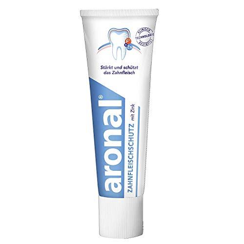 Aronal Zahnfleischschutz mit Zink Zahnpasta, 75ml