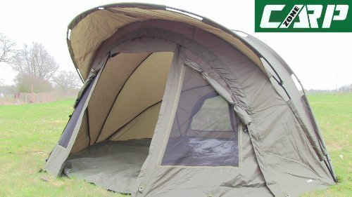 Carp-Zone-Hurricane-AS-All-Season-Two-Man-Bivvy-with-Overwrap-Carp-Fishing