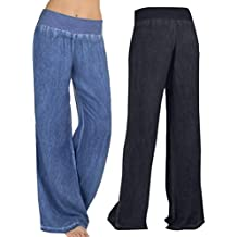 8502b02df60b Amazon.it  taglie forti donna pantaloni