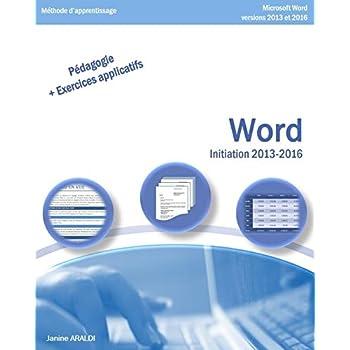 WORD Initiation 2013 - 2016