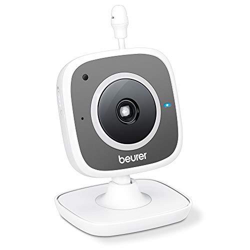 Beurer BY 88 Smart Wi-Fi Babycare Kamera, weiß/grau
