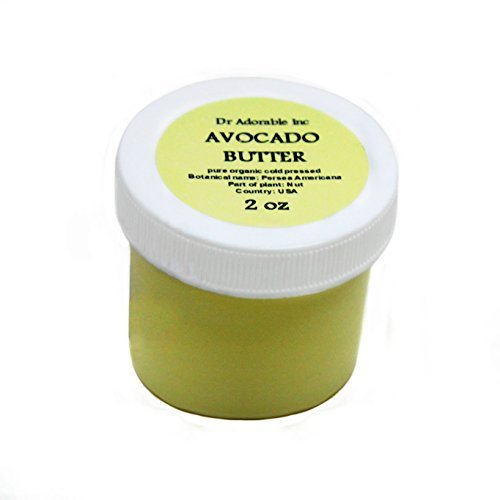 Avocado Butter Pure Organic Refined Raw by Dr.Adorable 2 Oz