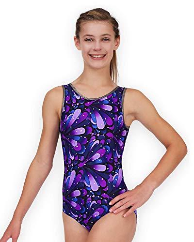 Leap Gear Gymnastik Trikot 6 | Kinder Medium lila Pfau