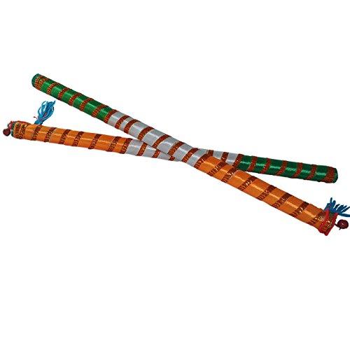 Indiano Multicolor Dandia Wooden Sticks