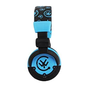 Urbanz Block DJ Style Headphones - Blue/Black