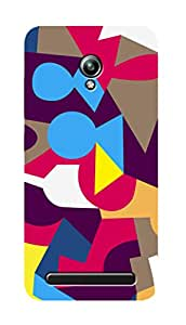 SWAG my CASE PRINTED BACK COVER FOR ASUS ZENFONE GO Multicolor