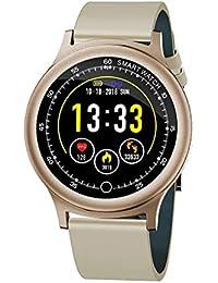 Q28 Reloj Inteligente, Q28 Reloj Pulsera Inteligente 1.54 Pantalla Grande IP69 natación Larga Espera Negro