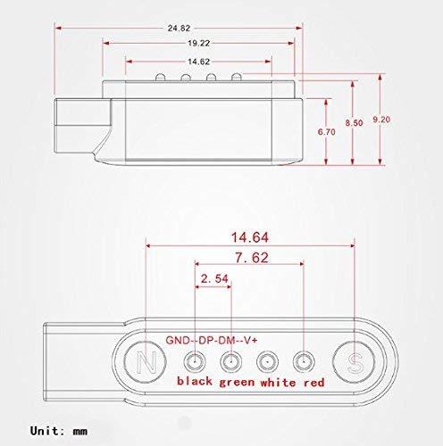 Zeerkeer Cable de carga rápida USB Fuerte alimentación magnética Cable USB para SmartWatch / Rastreador GPS / Relojes… 7