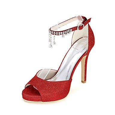 RTRY Donna Sandali Primavera / Estate / Autunno Sandali Glitter Wedding / Festa &Amp; Sera US6.5-7 / EU37 / UK4.5-5 / CN37