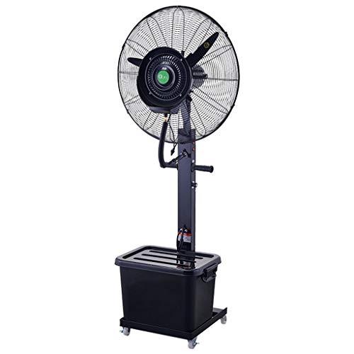 Ventilador Nebulizador Ventilador de Pedestal Comercial Ventilador de Niebla Grande Ventilador Vibrante...