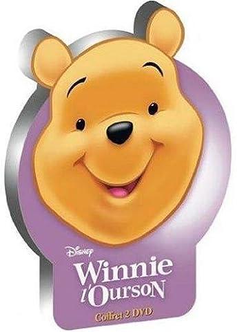 Coffret tête de Winnie - Les aventures de Winnie l'Ourson + Winnie l'Ourson 2, Le grand voyage