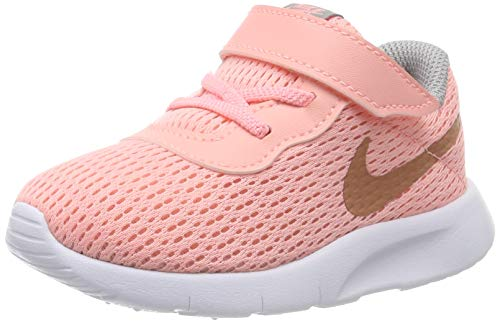 Nike Mädchen Tanjun (TD) Gymnastikschuhe, Pink (Pink Tint/MTLC Rose Gold/Atmosphere Grey 607), 27 EU