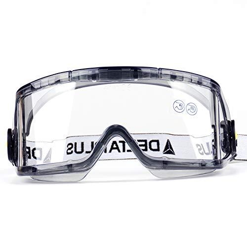 WXJWPZ Schutzbrillen,Verstellbaren BüGeln 400 Uv-Schutz KratzbestäNdigen GläSern,Seitenschutz SchutzgläSer