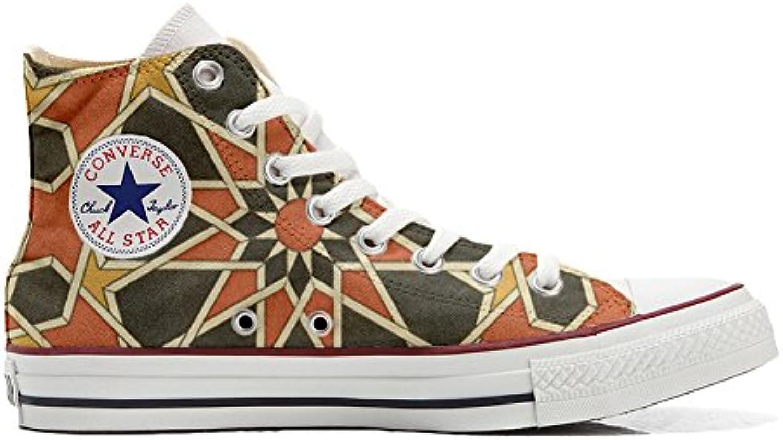 mys Converse All Star Customized Unisex   Personalisierte Schuhe (Handwerk Produkt) Mosaic Size 36 EU
