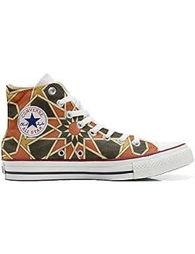 Converse All Star Customized - zapatos personalizados (Producto Artesano) Mosaic size 35 EU