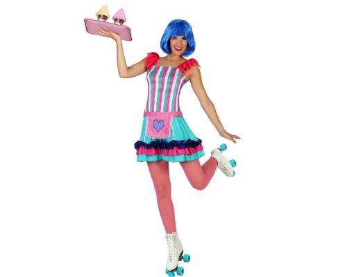 Atosa 22932 - Kellnerin Kostüm, Größe XL, (Amazon Kellnerin Kostüm)