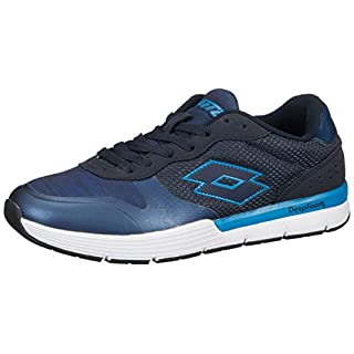 Lotto Sport Men's Dayride Amf Competition Running Shoes, Azul (Nvy Dk / Glx), 10.5 UK
